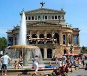 Old opera house in Frankfurt, Germany