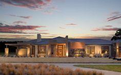Denver Vogue Facade New Home Designs - Metricon Rambler House, Clay Roof Tiles, New Home Designs, Facade House, Ranch Style, Modern House Design, Denver, New Homes, Interior Design