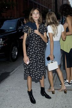"alexachungdirectory: "" Alexa Chung attends New York Fahion Week in New York City on September 9, 2016 """
