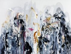 Maggi Hambling  Wall of water VIII, Oil on canvas, 2011, 198 × 226 cm, (Private Collection)