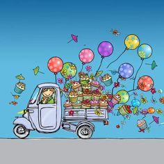 Funny Happy Birthday Images, Happy Birthday Signs, Happy Birthday Wishes Cards, Birthday Wishes And Images, Birthday Blessings, Birthday Wishes Quotes, Bday Cards, Watercolor Birthday Cards, Congratulations