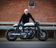 @ardentmoto reveling in his awesome Harley Sportster cafe custom. Great work! #hd #harley #harleydavidson #caferacer #caferacers #caferacersofinstagram #caferacersculture #caferacerbuilds #vintage #vintagestyle #vintagefashion #motocycle #moto #motos #motorcycles #oldstyle #oldschool #bratstyle #motorbike #motor #helmet  Curated from @caferacersculture  #caferacer #caferacerxxx #caferacerporn #caferacersofinstagram #caferacerculture by curatedmoto
