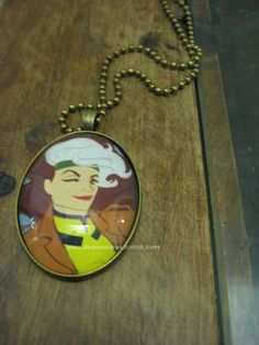 Rogue Necklace by DeenaDraws on Etsy, $17.00