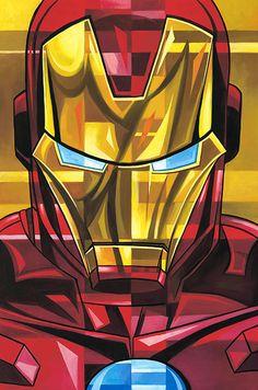 Tim Rogerson: Iron Man by Tim Rogerson