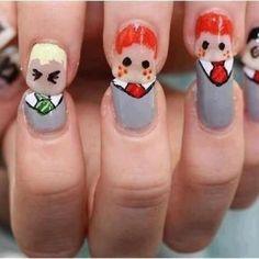 Finger Nail Peeps.