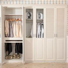 Diy shutter door wardrobe india pied terre idea for Bedroom wardrobe shutter designs