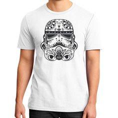 Stormtrooper Sugar Skull District T-Shirt (on man)