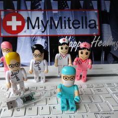 USB STICK #ARTS #VERPLEEGKUNDIGE # LEUK CADEAU http://www.mymitella.nl/c-2956278/zorg-gadgets-sieraden/