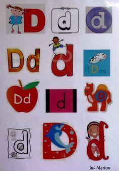 letter D/d