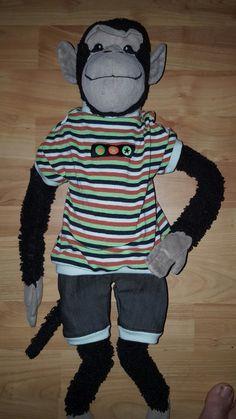 Outfit für Coco den Affen