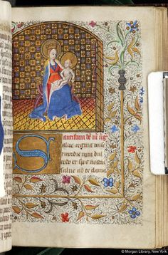 Virgin Mary and Christ Child  | Book of Hours | France, Brittany | ca. 1465 | The Morgan Library & Museum