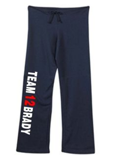 Womens Tom Brady Sweatpants Navy Blue Size Medium by Mixapparelusa. $32.00. A perfect pair of sweatpants for the female sports fan. A super quality and very comfortable product sold by us Mixapparelusa.