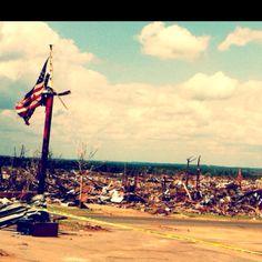 Devestatiom after tuscaloosa tornado on april 27 2011