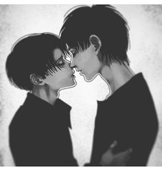 Levi: Eren? Eren: Heichou? Levi: ...Are you the one who's been microwaving the hamsters in the company break room? Eren: Yes, Heichou. Levi: Why? Eren: I like the smell, Heichou. Levi: I like the smell of macaroni, Eren. Eren: Mmm hamster... || Credit: idk because people on tumblr are cold hearted bastards :)