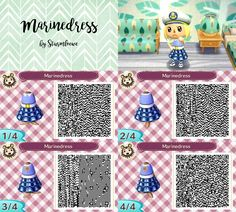 Animal Crossing Qr Codes Floor White