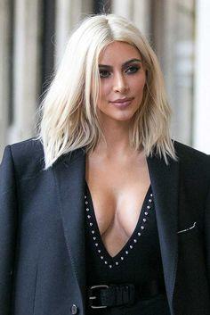 kim kardashian - we loved the blonde
