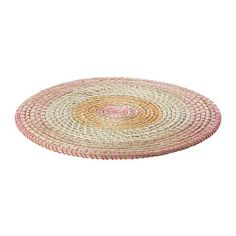 Designer Hand Made Seagrass Table Mat With 100% polyester Thread - Round (37 cm)- Protects the table top surface and reduces noise from plates and cutlery Verdi http://www.amazon.co.uk/dp/B00KV240N0/ref=cm_sw_r_pi_dp_wcVgwb0E6WRW6