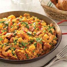 Shrimp-Andouille Paella