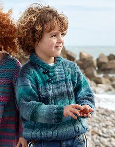 Revista Niños 79 Otoño / Invierno | 24: Niños Jersey | Azul-Turquesa