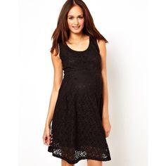 Vestido elegante de embarazada Más ideas sobre moda y embarazo: http://www.stylesyoulove.es/guia/ropa-de-premama-guia-embarazada-con-estilo