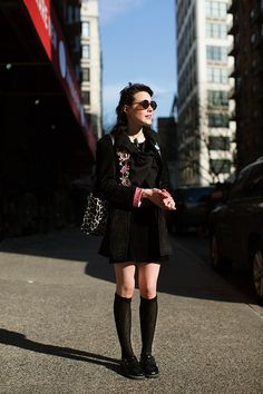 On the Street…Outside the Strand, New York