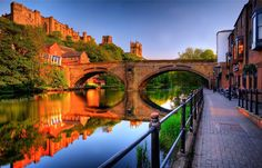 durham england | River Wear, Durham, UK