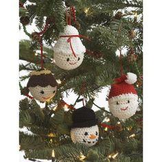 Amigurumi Ornaments Free Easy Toy Crochet Pattern