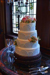 .Bridal cake  - at Old Glory Ranch #weddingcakes www.oldgloryranch.com  www.facebook.com/oldgloryranch