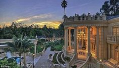PRICE CUT THe $40 Million Dollar Hideous Chateau D'Or Now Listed for Bargain Price of $25M. This tells how  BAD things are in California!