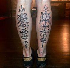 Geometric Tattoo - Croatian geometric tattoos - List of the most beautiful tattoo models Slavic Tattoo, Norse Tattoo, Viking Tattoos, Leg Tattoos, Body Art Tattoos, Tribal Tattoos, Tattoo Ink, Ancient Tattoo, Future Tattoos