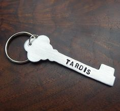 Doctor Who  TARDIS Key  An Aluminum by bohemianstorm on Etsy, $10.95