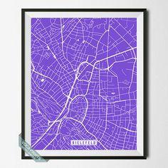 Bielefeld Print Germany Poster Bielefeld Map Germany by VocaPrints. - Prices start from $9.90 Shipping Worldwide! #vocaprints #wallart #walldecor #homedecor #decor #art #christmasgift #giftforher #giftforhim #mothersdaygift #fathersdaygift #babygift #poster #print #nurseryart #nurserydecor #holidaygift #giftidea #officedecor #babyshowergift #map #streetmap #mapart