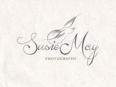 Premade photography logo design using elegant by AquariusLogos, $10.00