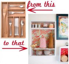 Cutlery drawer shelf by riaballerina
