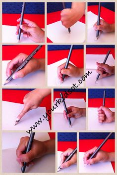 Pencil grasps from Your Kids OT www.yourkidsot.com