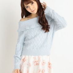 The ultimate online destination for fans of Japanese pop culture. Liz Lisa, Tokyo Otaku Mode, Mode Shop, Pop Culture, Off The Shoulder, Shop Now, Turtle Neck, Knitting, Blouse