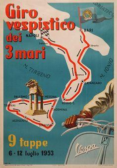 #vespa rally #poster