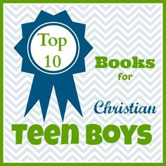A great list of books for teen boys from Our Journey Westward