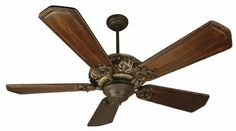 Agvm - Aged Bronze/vintage Madera Ceiling Fan : P7HT | Timberlake Lighting of Lynchburg