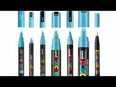 POSCA Water-Based Paint Markers manufactured by Mitsubishi Pencil can be used on all surfaces and have countless applications. POSCA is the marker reference .