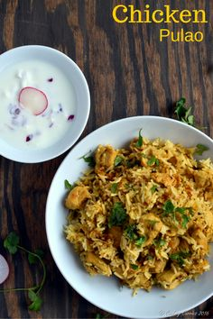 Chicken Pulao - Basmati Rice with Chicken and Spices | Gluten Free Indian www.cookingcurries.com