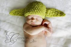 Baby Ear Hat  The Force Master Hat  Crochet Hat by AshleysHomeSpun, $20.00