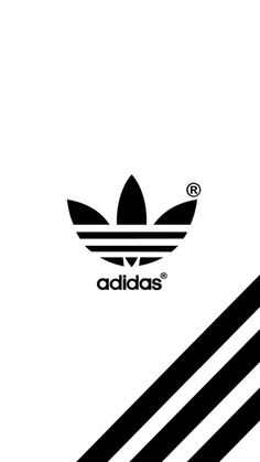 Adidas (Over White Background) - Mobile Wallpaper/Background/Lockscreen.