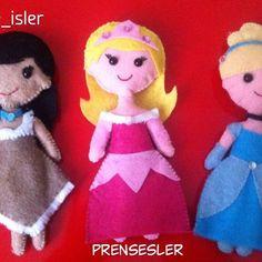 #prensesler #prenses #disneyprensesleri #princess #disneyprincess #elyapımı #elişi #oyuncak #hediye #anneceişler #handmade #kece #keçe #felt #aurora #pocahontas #cinderella #sindirella