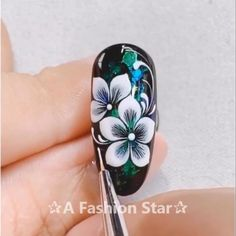 "Nail Art ""A Fashion Star"" Nail Art # Thumbnail # ネ ネ イ na na na ル ild ild ild ジ ェ й ネ イ イ nail ェ ネ ネ ネ イ イ イ н з з з nail nail з stan stan stan stan stan nail stan st # Nail Art Hacks, Nail Art Diy, Cool Nail Art, Diy Nails, Cute Nails, Nail Art Designs Videos, Nail Art Videos, Nail Art Flowers Designs, Pretty Nail Art"
