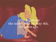 Alice in Wonderland fell down the rabbit hole 147 years ago today