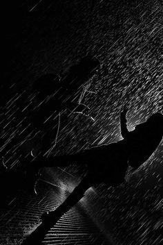 34 Black & White Photos Of Night. Winner: Rain Room by Jaspreet Monga