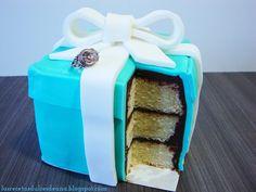 Las recetas dulces de Ana: Tarta fondant Tiffany