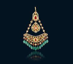 Buy Ethnic Polki Nizam Style Pasa at hazoorilal jewellers