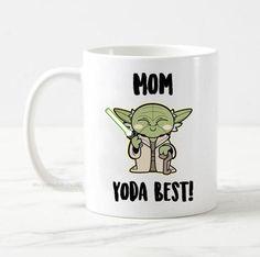 Mom Yoda Best Coffee Mug, Mom Mug, Gift for Mom, Mom Gifts, Mother's Day Gift, Funny Mug, Coffee Mug, Funny Star Wars Mug, Star Wars Gift